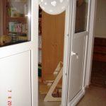 Bīdāmas PVC durvis