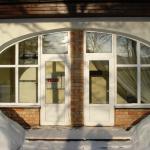 Balti PVC durvju bloki